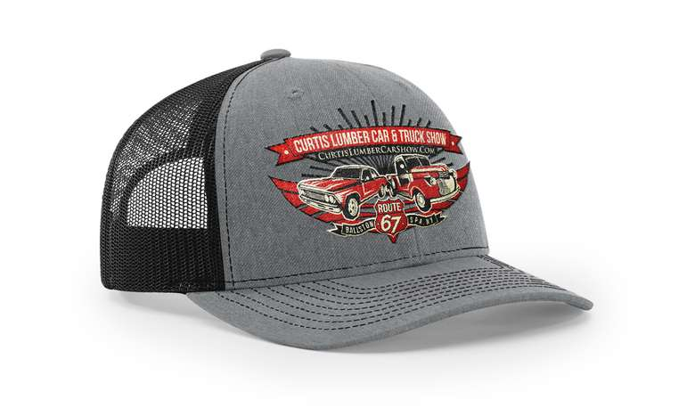 Curtis Lumber Car and Truck Show trucker hat