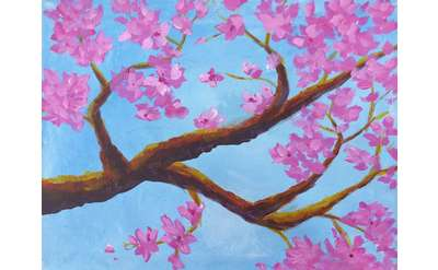 Cherry Tree Paint & Sip