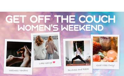 Get off the couch women's weekend
