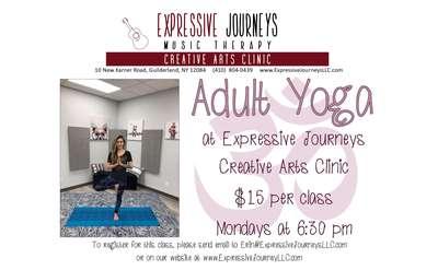 Monday Night Adult Yoga - 6:30 pm
