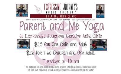 Parent and Me Yoga - Tuesdays 10 am