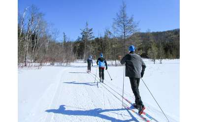 Cross Country Skiing at Garnet Hill