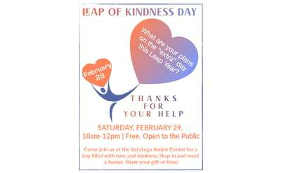 Leap of Kindness Day!