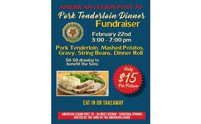Pork Dinner Flyer