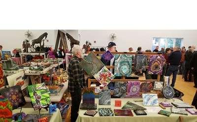 flea market indoors