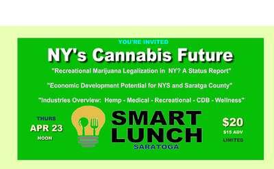 Smart Lunch - Saratoga April 23 at Caffe Lena