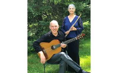 Special performance featuring Yvonne Hansbrough on flute and Paul Quigley on guitar.
