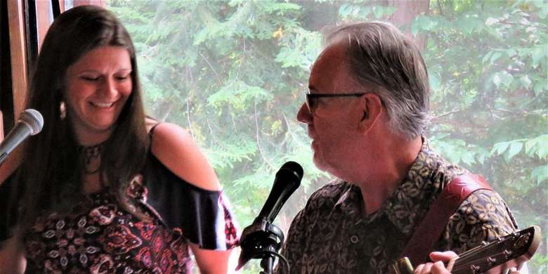 Mark & Jill Sing the Blues at LRH Winery