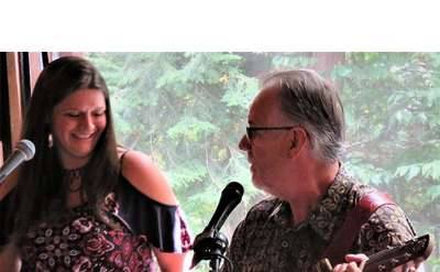 Mark & Jill Sing the Blues at LRH Winery