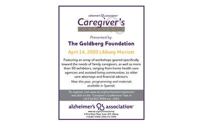 Alzheimer's Association of Northeastern New York 2020 Caregiver's Conference