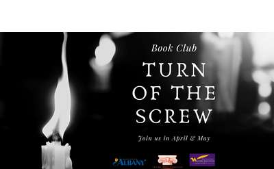 Turn of the Screw - A Book Club not to be missed for all fans of history and horror
