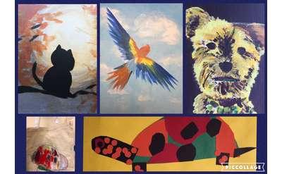 Art Camp Week 1: Pet Lover's Week