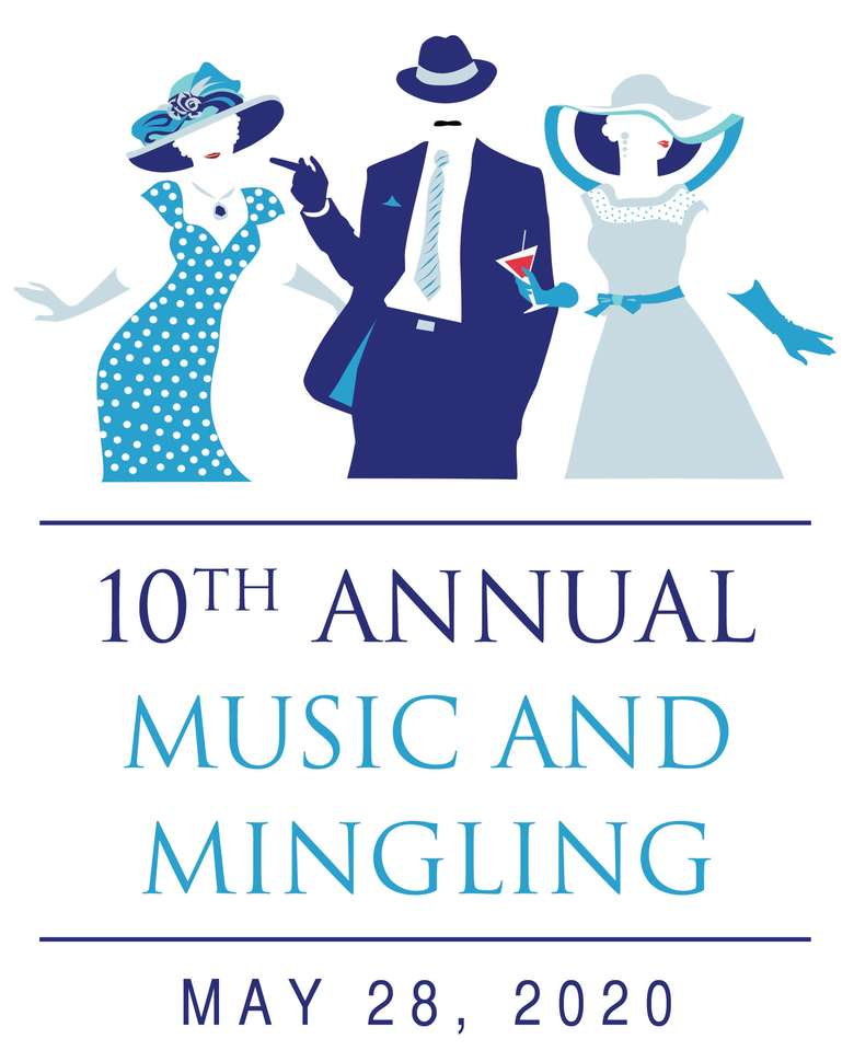 Poster for 10th Annual Music and Mingling, May 28 2020