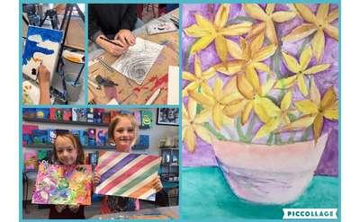Art Camp Week 2B Drawing & Painting