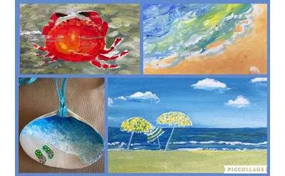 Art Camp Week 6 Art of the Seaside