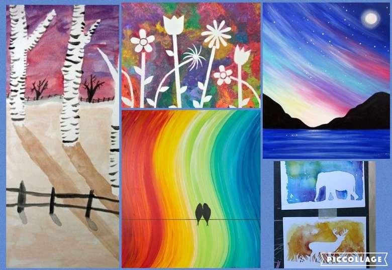 Art Camp Week 7 Painting In Depth