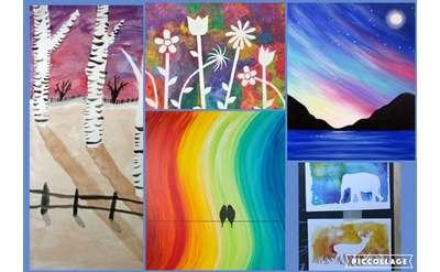 Art Camp Week 9 Painting in Depth