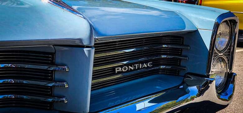 Front of Pontiac