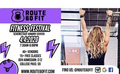 Fitness Festival Banner