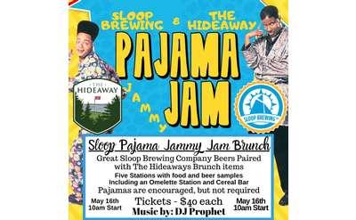 Pajama Jammy Jam with Sloop Brewing