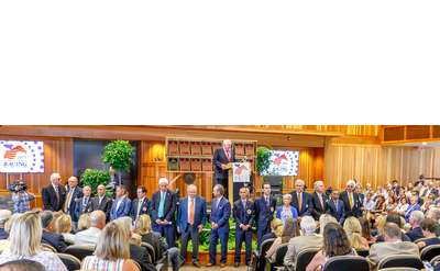 National Museum of Racing Hall of Fame Induction Ceremony