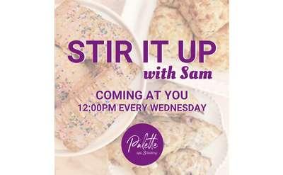 Stir it up with Sam