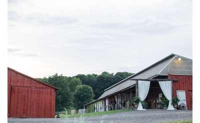 Buffalo Barn where we hold our farm dinners