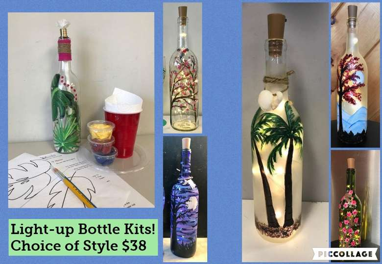 Light Up Bottle Project Kits