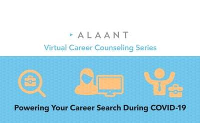Virtual Career Counseling Series: Powering Your Career Search During COVID-19 on 6/11