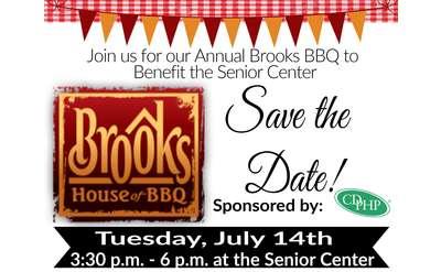 Brooks BBQ poster