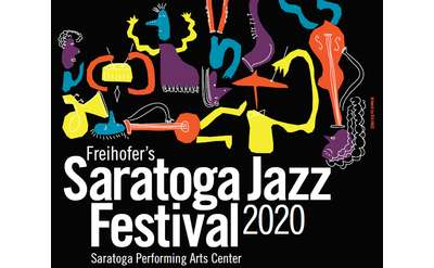 Jazz Festival 2020, artwork by Skidmore student Isa Hage