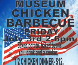 barbecue chicken event poster