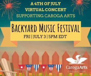 Backyard Music Festival poster