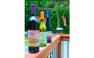 4th of july weekend at ledge rock hill