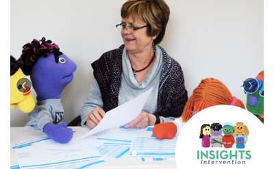 ActivityHero promo with woman and puppets