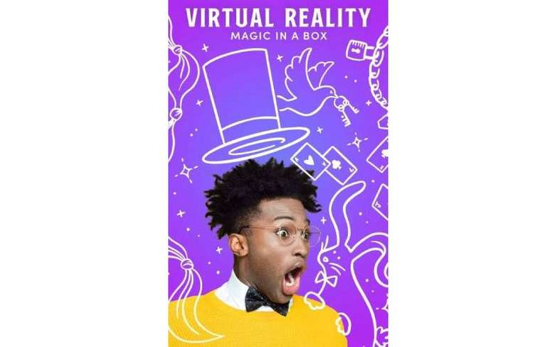 virtual reality event poster