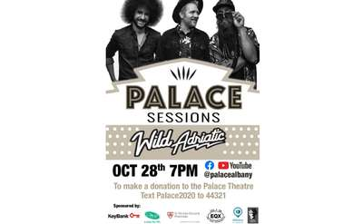 event poster for the palace sessions