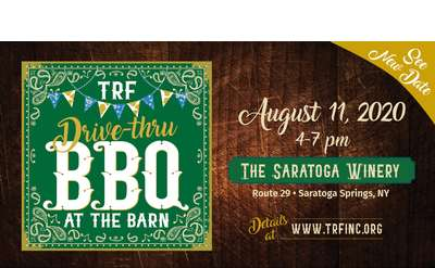 TRF Drive-thru BBQ at the Barn event poster