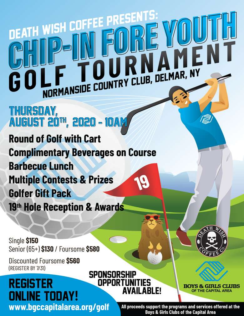 Chip-In Fore Youth Golf Tournament 2020