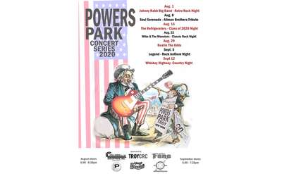 powers Park Schedule 2020