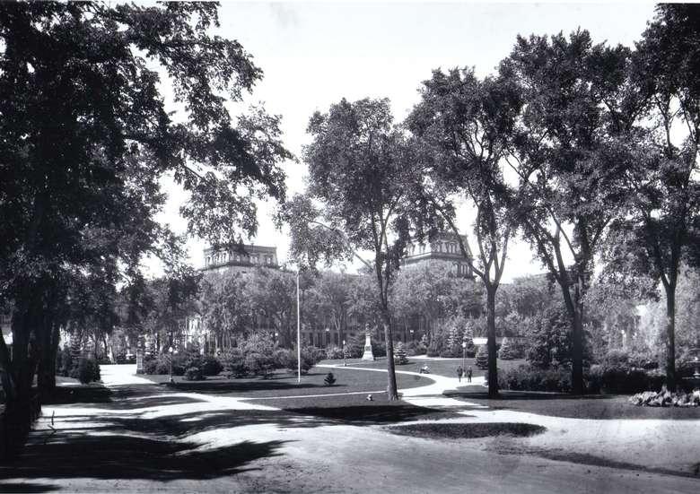 Congress Park in 1926