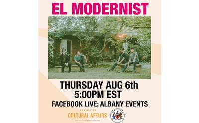 el modernist event poster