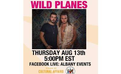 event poster for wild planes