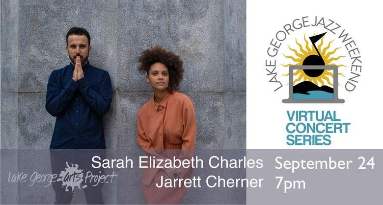 Virtual Jazz Weekend, Sarah Elizabeth Charles and Jarrett Cherner