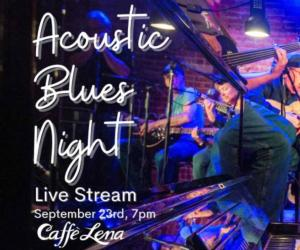 blues night live stream poster