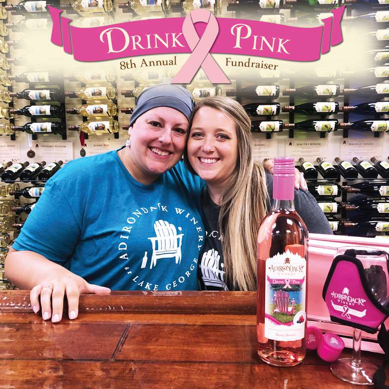 Drink Pink at Adirondack Winery!