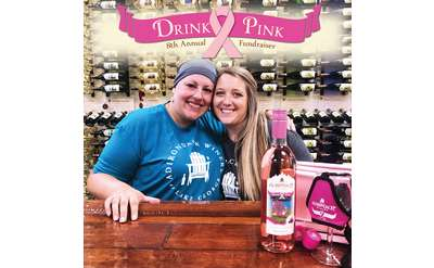 Drink Pink at ADK WInery!