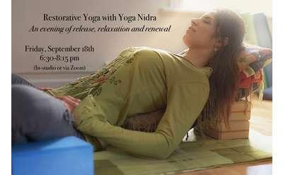 Restorative Yoga w/ Yoga Nidra