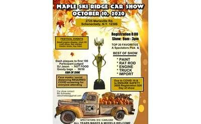 Car Show & Festival flyer