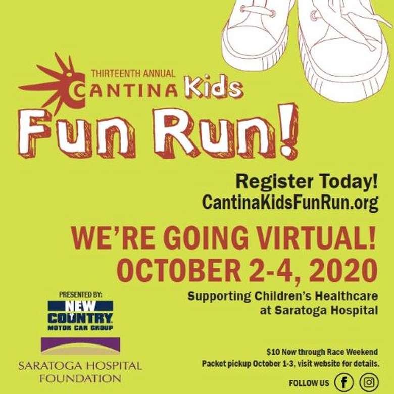 cantina virtual fun run poster